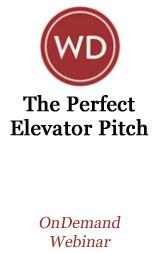 The Perfect Elevator Pitch OnDemand Webinar