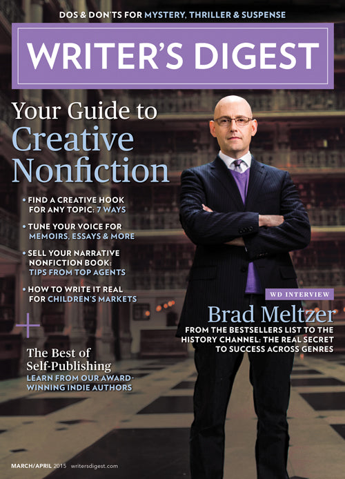 Writer's Digest March/April 2015 Digital Download