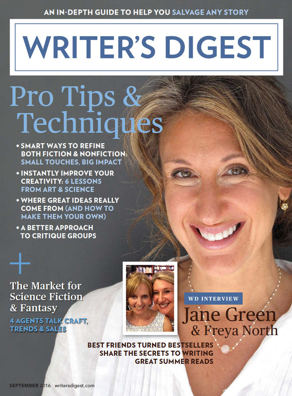 Writer's Digest September 2016 Digital Edition