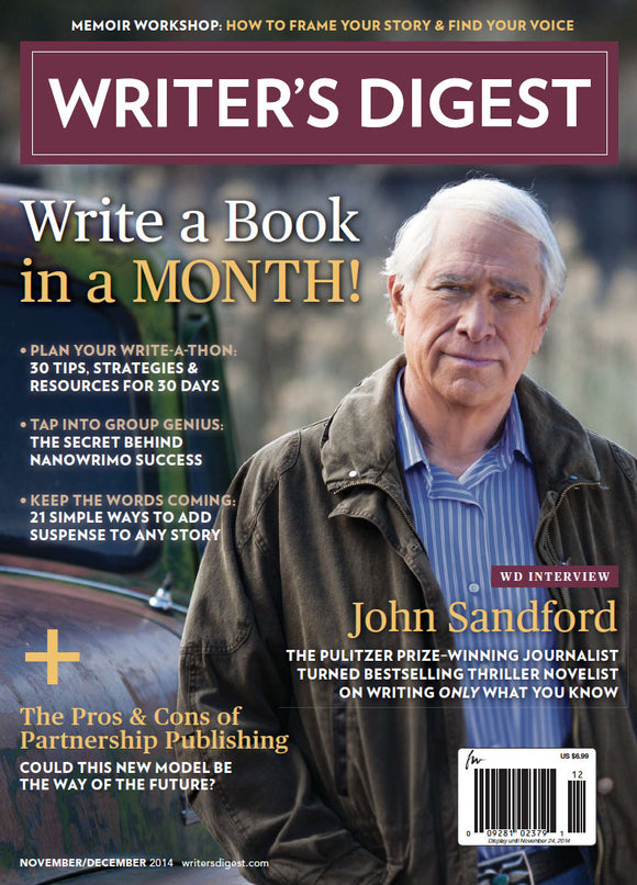 Writer's Digest November/December 2014 Digital Download