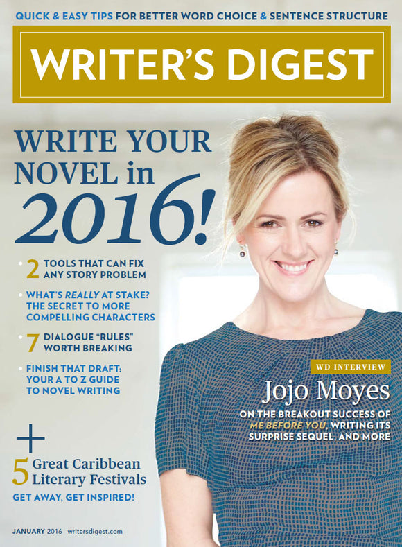 Writer's Digest January 2016 Digital Edition