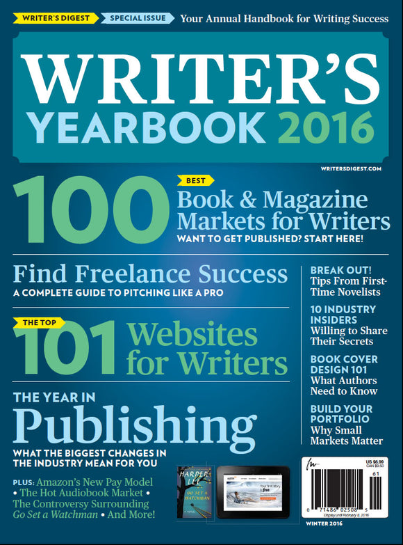 Writer's Yearbook 2016 Digital Edition