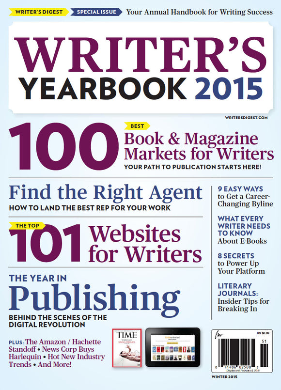 Writer's Yearbook 2015