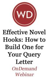 Effective Novel Hooks: How To Build One for Your Query Letter OnDemand Webinar