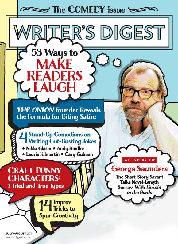 Writer's Digest July/August 2018 Digital Edition