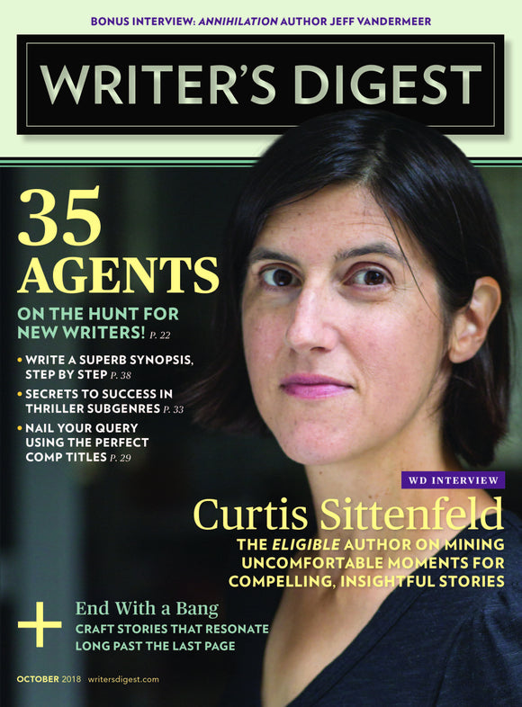 Writer's Digest October 2018 Digital Edition