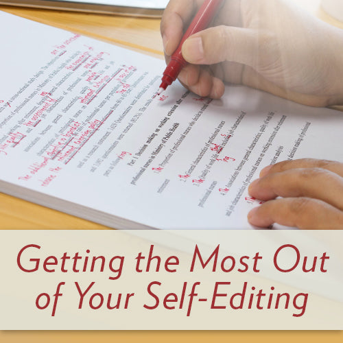Getting the Most Out of Your Self-Editing OnDemand Webinar