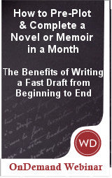 How to Pre-Plot & Complete a Novel or Memoir in a Month