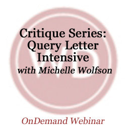Critique Series: Query Letter Intensive