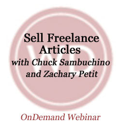 Sell Freelance Articles OnDemand Webinar