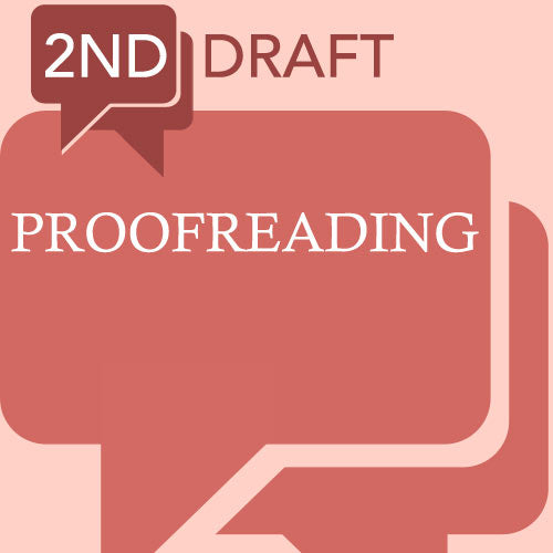 2nd Draft Proofreading Service