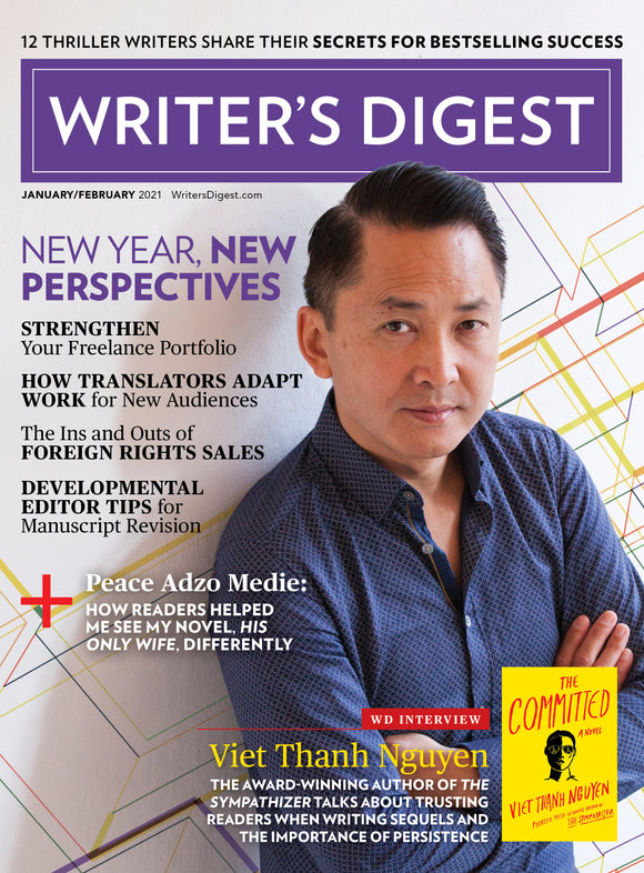 Writer's Digest January/February 2021 Digital Edition