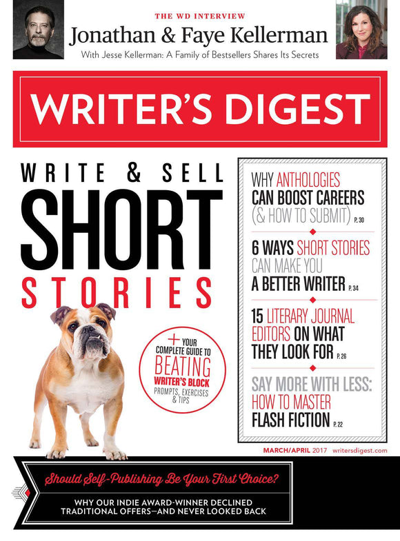 Writer's Digest March/April 2017 Digital Edition