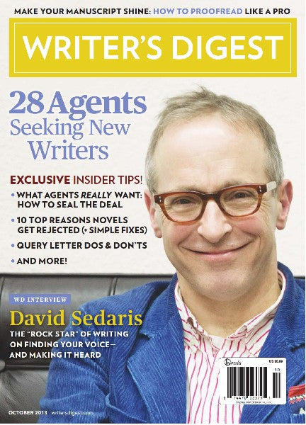 Writer's Digest October 2013 Digital Download