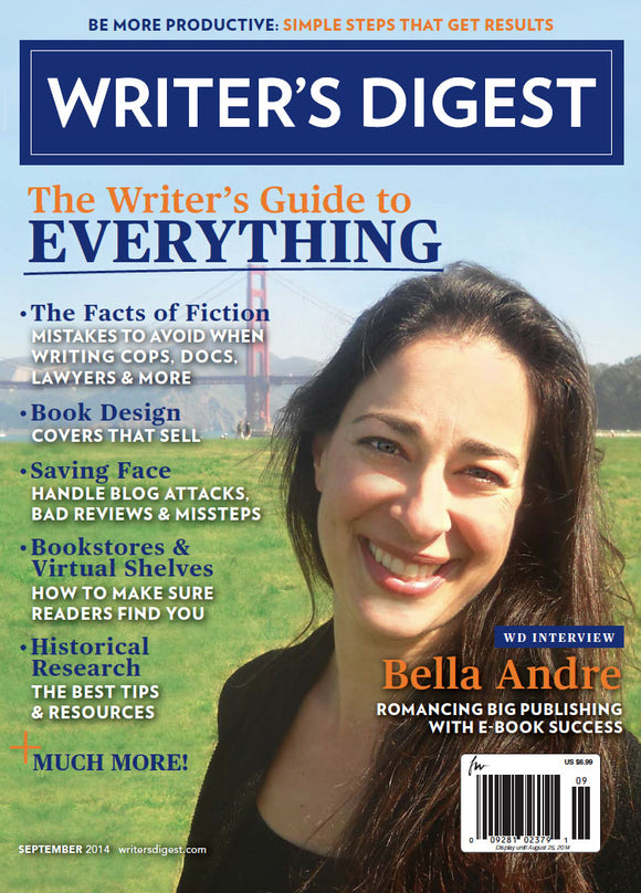 Writer's Digest September 2014 Digital Download