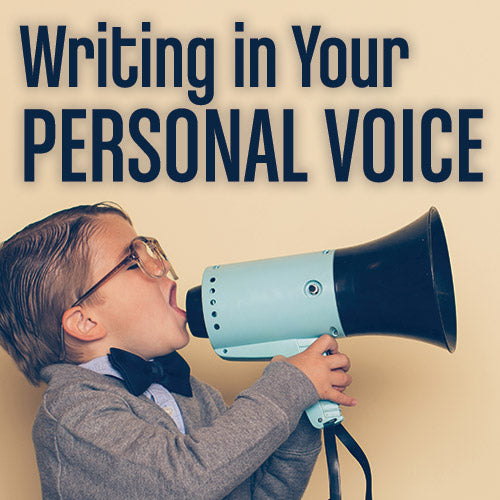 Writing in Your Personal Voice OnDemand Webinar