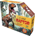 I am Raptor - 100 stk