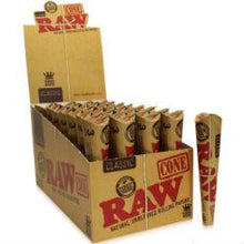 Load image into Gallery viewer, Rolling Paper - RAW Pre-rolled Cones