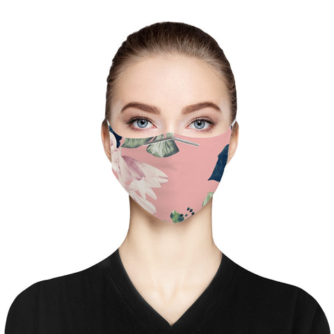Floral Garden Cloth Face Mask For Adults