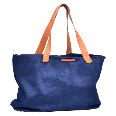 Jacki Easlick Denim Tote Made in Haiti