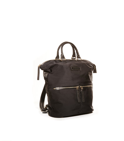 Jacki Easlick Black nylon backpack