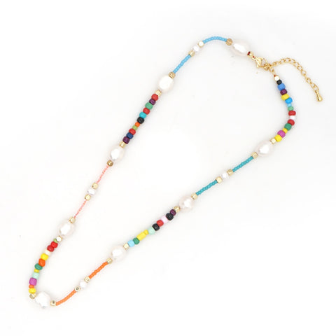 Beaded Boho Necklace