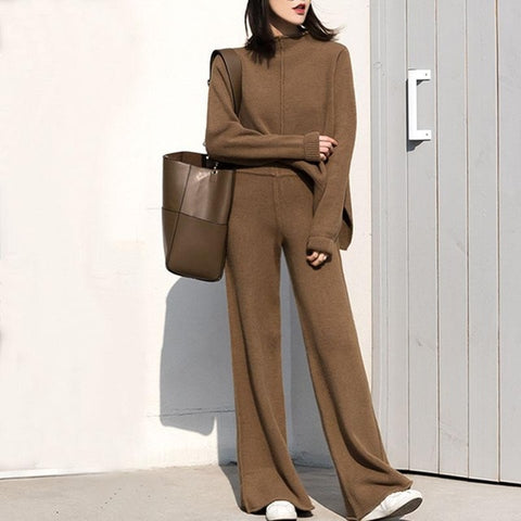 Two Piece Set Top And Pants Track Suit