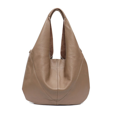 Genuine Leather Hobo Bag