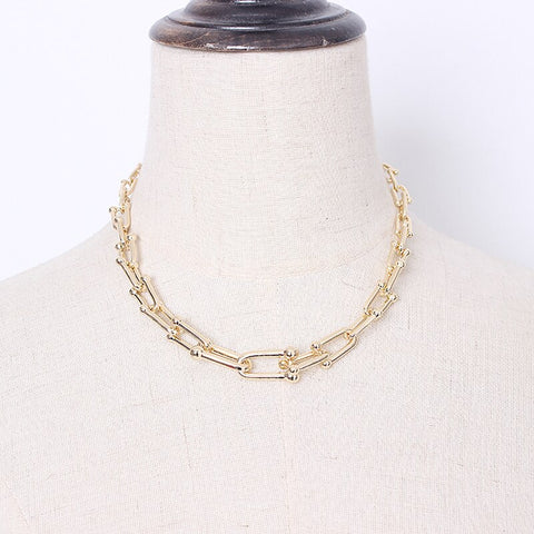 Split Joint Trendy Necklace
