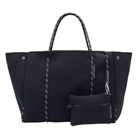 Neoprene Tote with detachable Mini bag