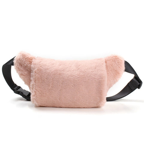 Faux Fur Waist Bag
