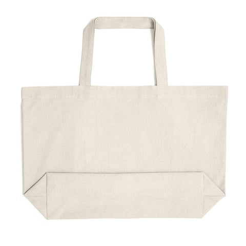 Large Cotton Reusable Oversized Tote Bag