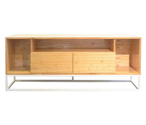 Mueble de TV Streaming estructura blanco