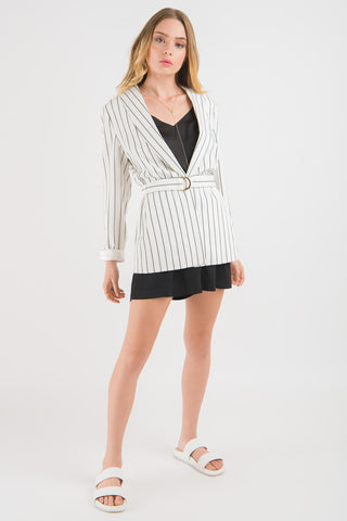 Blazer - White Stripe