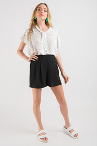 Drape Short - Black
