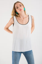 Scoop Tank - White