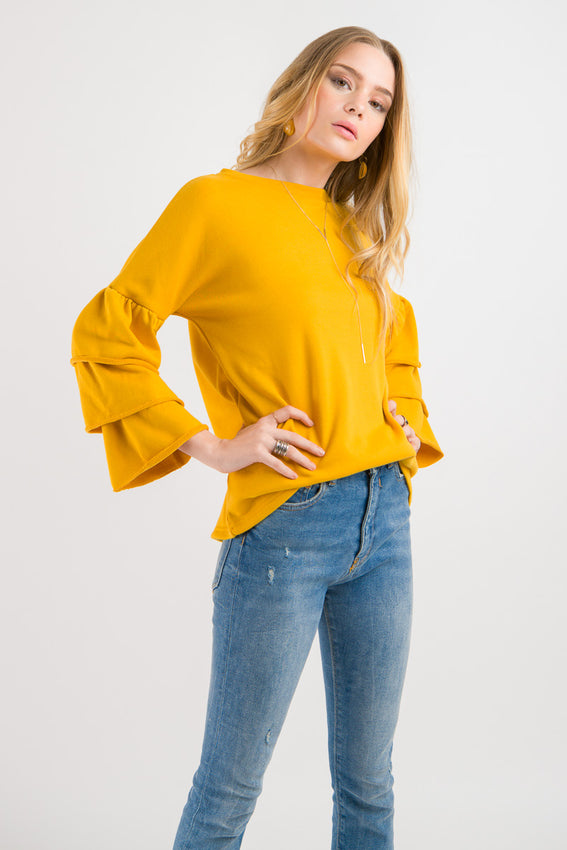 Flutter Sweatshirt - Gold Video
