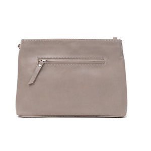 Duffle&Co: The Rose Crossbody - Grey