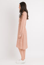 Wrap Dress - Blush