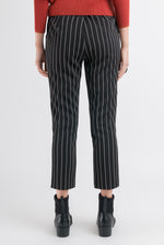 Straight Hakama Pant - Black Stripe