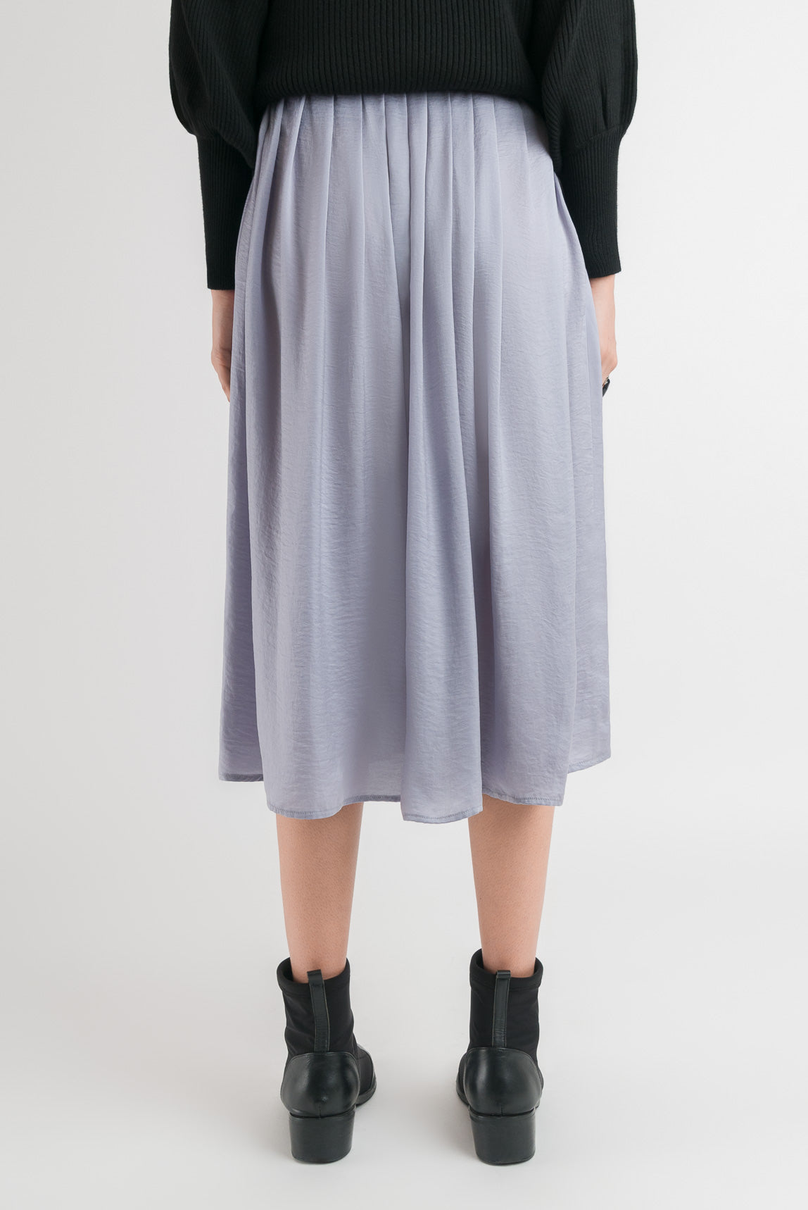 Drape Skirt - Blue