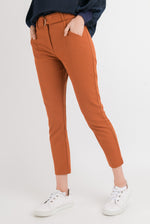 Straight Hakama Pant - Rust