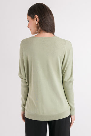 Weave Sweater - Green