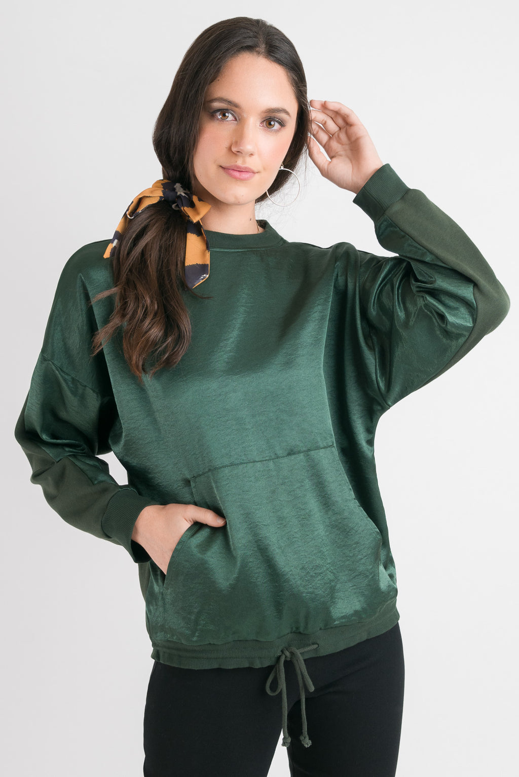 Pocket Sweatshirt - Green
