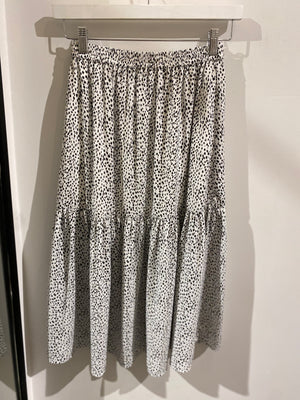 Grace Skirt - Black Spot