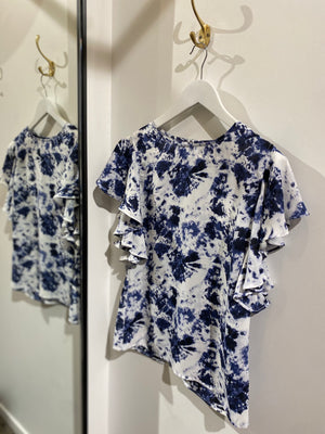 Lily Top - Blue print
