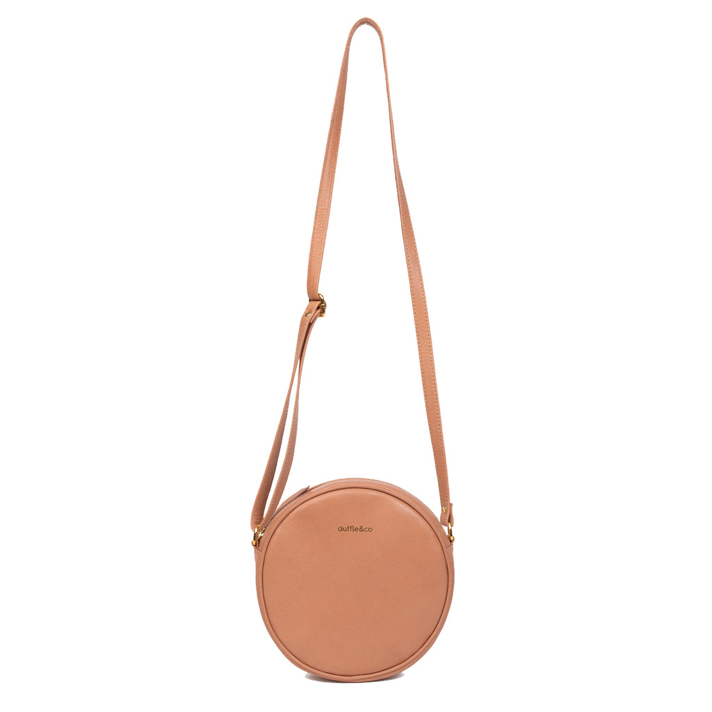 Duffle&Co: The Josie Crossbody - Light Tan