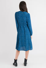 Wrap Dress - Petrol