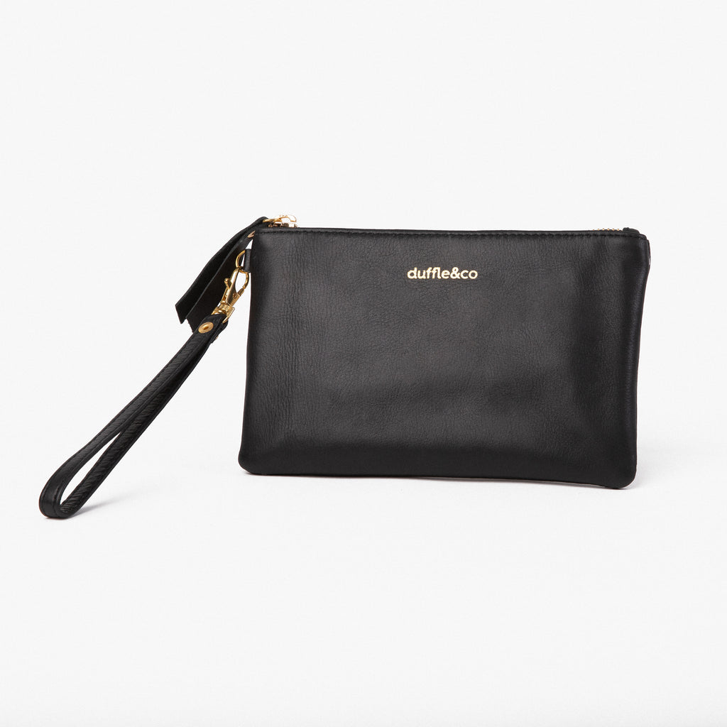 Duffle&Co: The Reese Pouch - Black