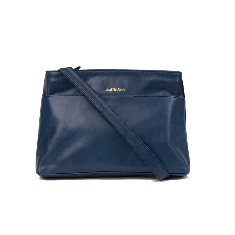 Duffle&Co: The Rose Crossbody - Navy